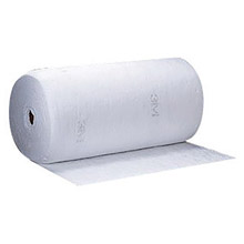 "3M 3MRHP-100 38"" X 144' White Polypropylene And Polyester High Capacity Sorbent Roll"