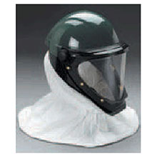 3M L-901SG Helmet With Wide-View Faceshield For Use With Adflo Or GVP Turbo Units And Supplied Air Respirator