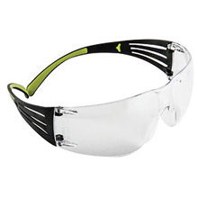 3M 3MRSF401AF 400 Series SecureFit Protective Eyewear With Clear Anti-Fog Lens, Per Pair