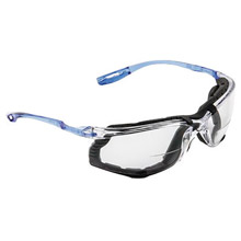3M 3MRVC215AF Virtua CCS 1.5 Diopter Safety Glasses With Clear Frame, Clear Polycarbonate Anti-Fog Lens And Foam Gasket Attachment
