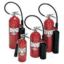 Amerex 5 Pound Carbon Dioxide Fire Extinguisher 322
