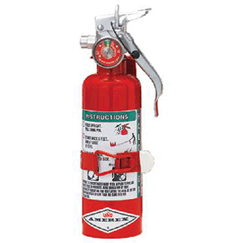 Amerex 1.4 Pound Halotron I Fire Extinguisher A384T