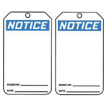 Accuform Signs 5 7 8in X 3 1 8in Blue Black White PF MNT101CTP