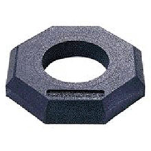 Jackson Kimberly-Clark Safety 10# Black Recycled Rubber Channelizer 3009066