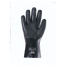 Ansell Edmont PVC Gloves Size Large Petroflex Fully Coated 204859