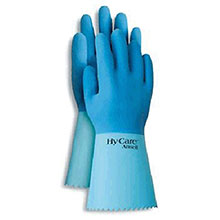 Ansell Edmont Latex Rubber Gloves 9 Hy Care Fully Coated High Quality 285653