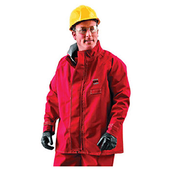 Ansell Edmont Medium Red 30in Sawyer Tower Cpc Polyester