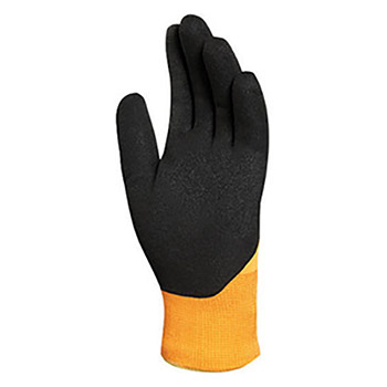 Ansell Black And Hi-Viz Orange ActivArmr Nitrile ANE97-011-10 Size 10