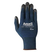 Ansell Black And Blue Clute Cut Medium Weight Cut ANE97-505-10 Size 10