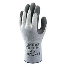 SHOWA Best Glove Gray And Dark Gray Atlas B13451S-07 Size 7