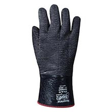 SHOWA Best Glove Black Insulated Neo Grab Cotton B136781R-10 Size 10