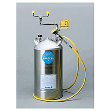 Bradley 10 Gallon Portable Pressurized Eye Wash S19-690