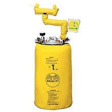 Bradley 10 Gallon Portable Pressurized Eye Wash S19-690H