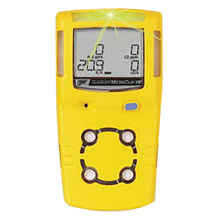 BW Technologies B86MCXLXWHMYNA by Honeywell Yellow MicroClipXL Carbon Monoxide, Hydrogen Sulfide And Oxygen Detector