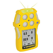 BW Honeywell Yellow GasAlertQuattro Portable Combustible QT-XWOM-A-Y-NA
