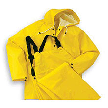 Bata Shoe Rainwear Bata Onguard Medium Yellow Webtex .65MM 76017-MD