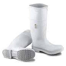 Bata Shoe PVC Boots Size 12 White 16in Kneeboots 81012-12