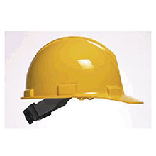 Bullard Hardhat 5100 Series Yellow Safety Cap 4 Point 51YLR