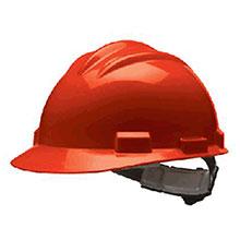 Bullard Hardhat S61 Series Red Safety Cap 4 Point Ratchet 61RDR