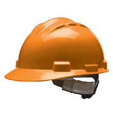Bullard Hardhat S62 Series Hi Viz Orange Vented Safety Cap 62HOR