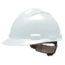 Bullard Hardhat S62 Series White Vented Safety Cap 62WHP