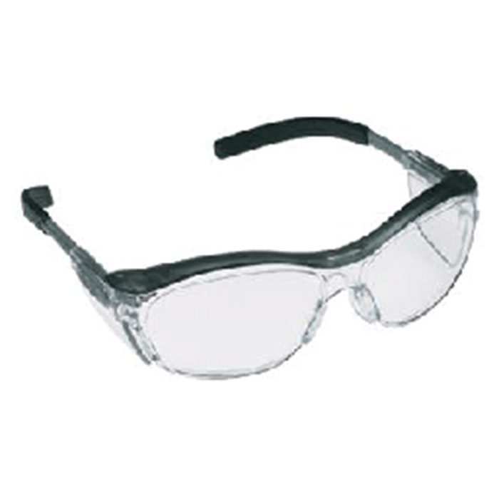 b983172f8d1 Aearo Technologies by 3M Safety Glasses Nuvo Gray Frame Clear 11411-00000