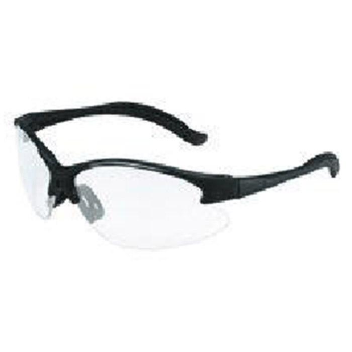 aearo by 3m safety glasses virtua v6 black frame
