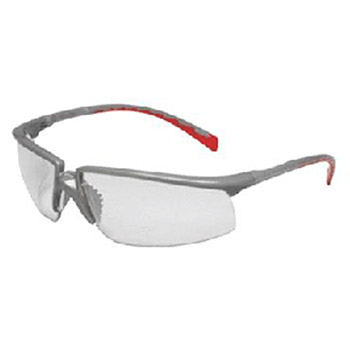 Aearo Technologies by 3M Safety Glasses Privo Silver Red 12265-00000