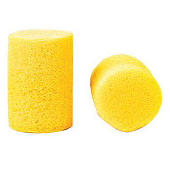3M CAS310-1001 Single Use Classic Cylinder Shape PVC Foam Uncorded Earplugs