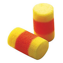 3M CAS310-1009 Single Use Classic SuperFit 30 Cylinder Shape PVC Foam Uncorded Earplugs