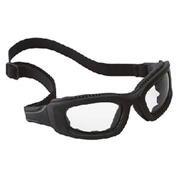 Aearo 3M Safety Glasses Maxim 2X2 Impact Goggles Black Nylon 40698-00000