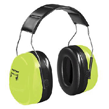Aearo Technologies by 3M Peltor Optime 105 High Viz Green Over The Head H10AHV