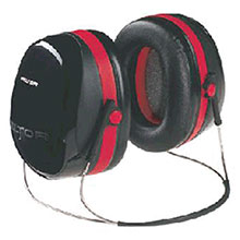 Aearo Technologies by 3M Peltor Optime 105 Behind The Head Earmuffs H10B