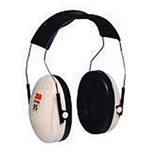 3M CASH6A/V Peltor Optime 95 Black And Beige ABS Over-The-Head Hearing Conservation Earmuffs