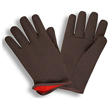 Cordova Work Gloves 1600 Red Lined Slip On Style 1600