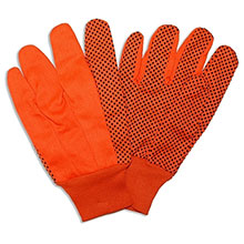 Cordova 2710 High-Viz Orange and Black PVC Dotted
