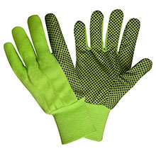 Cordova 2715 High-Viz Lime Green and Black PVC Dotted