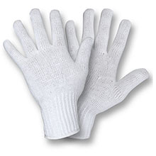 Cordova 3520 White Poly-Cotton Glove 7-Gauge