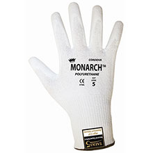 Cordova 3750 Monarch PU White Work Gloves