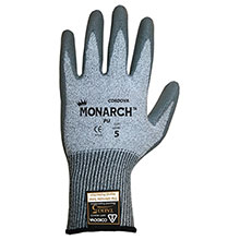 Cordova 3751 Monarch PU Gray Work Gloves