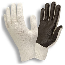 Cordova 3870 Poly-Cotton Glove PVC Palm