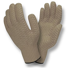 Cordova 3900G Grey PVC criss-cross glove