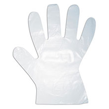 Cordova 4102 HDPE Disposable Gloves Embossed