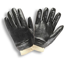 Cordova 5000 Black PVC coated glove Smooth finish