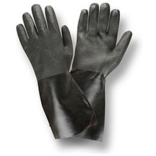 Cordova 5114I Black Double Dipped PVC Gloves