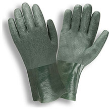 Cordova 5210J Green Double Dipped PVC glove