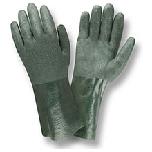 Cordova 5212J Green Double Dipped PVC glove