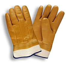 Cordova 5710T Double-Dipped Tan PVC Glove