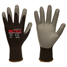 Cordova 6655 Tactyle Black Nylon Glove 13-Gauge