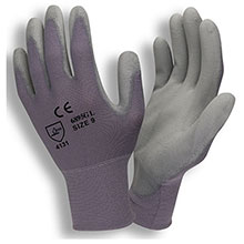 Cordova Coated Gloves Standard 13 Gauge Gray Nylon Shell Gray 6895CG